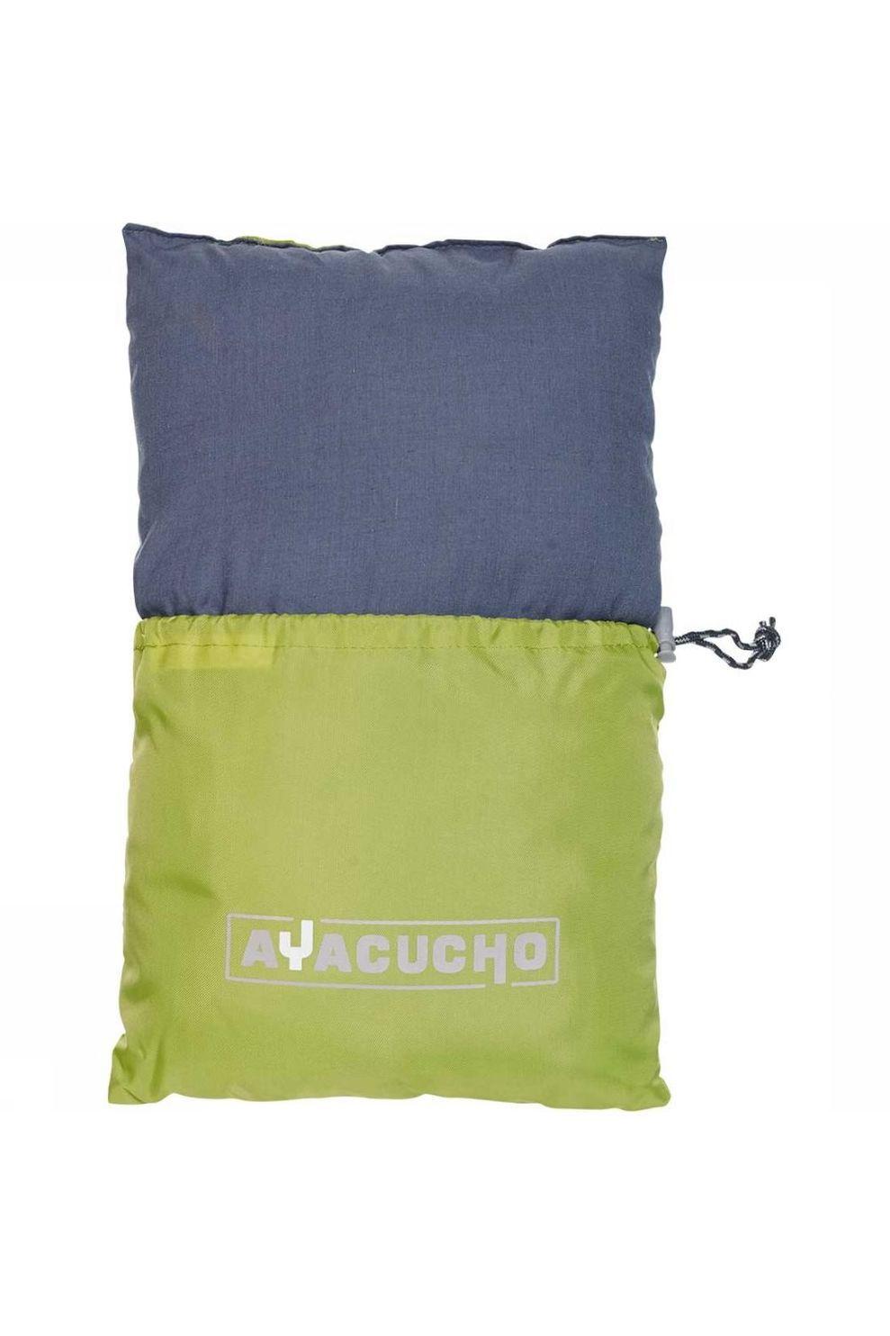 Ayacucho Kussen Travel Pillow - Groen