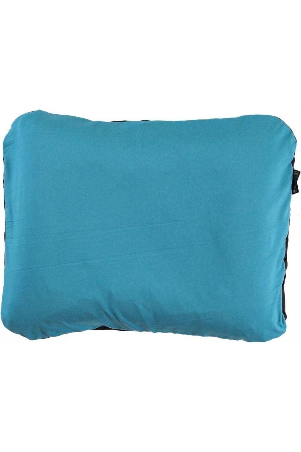 Ayacucho Kussen Travel Square Pillow - Blauw/Zwart