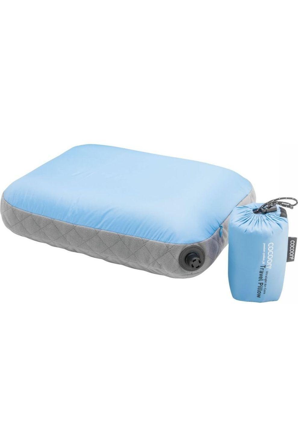 Cocoon Kussen Air Core Ultralight M - Blauw/Grijs