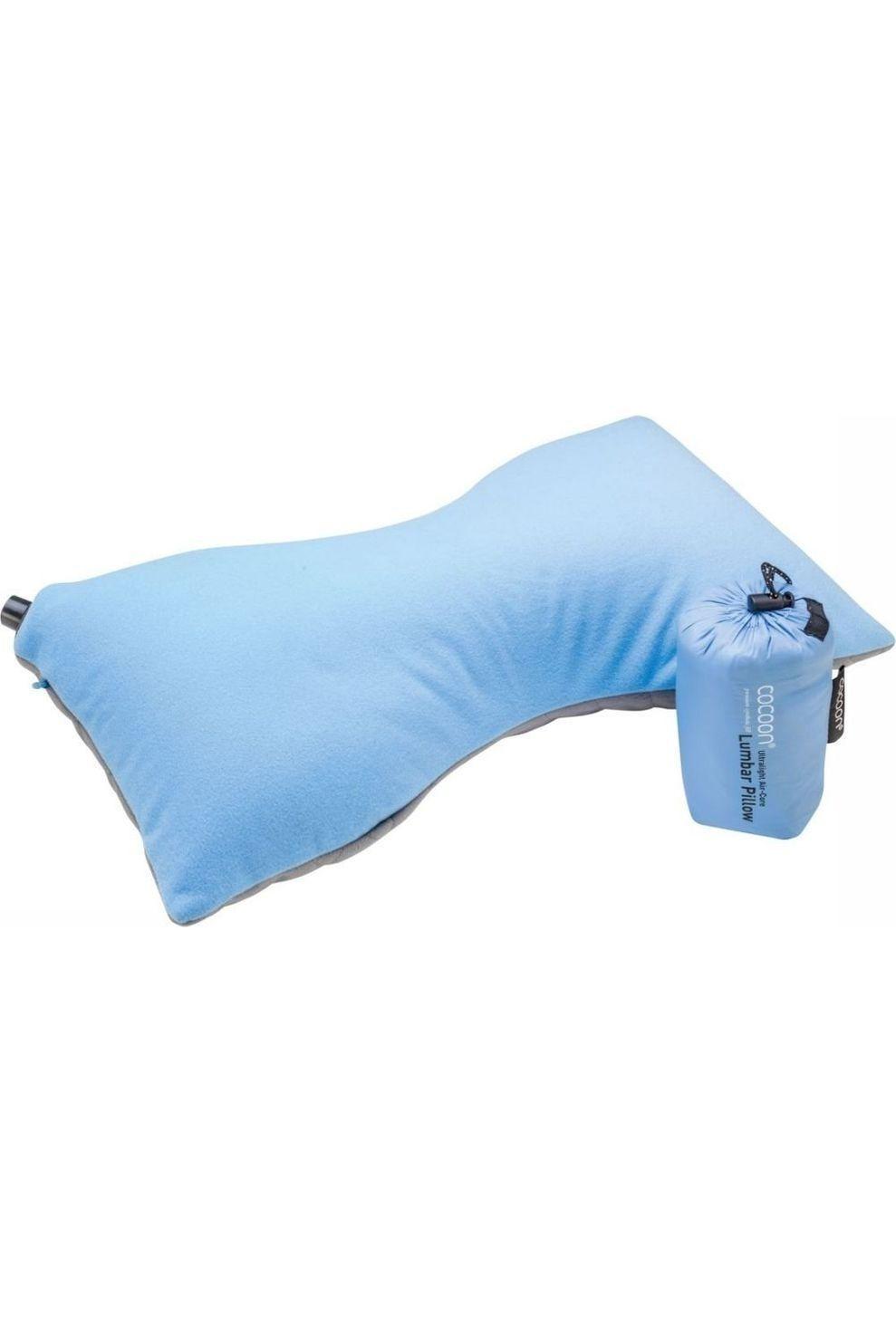 Cocoon Kussen Lumbar Pillow Ultralight - Blauw/Grijs