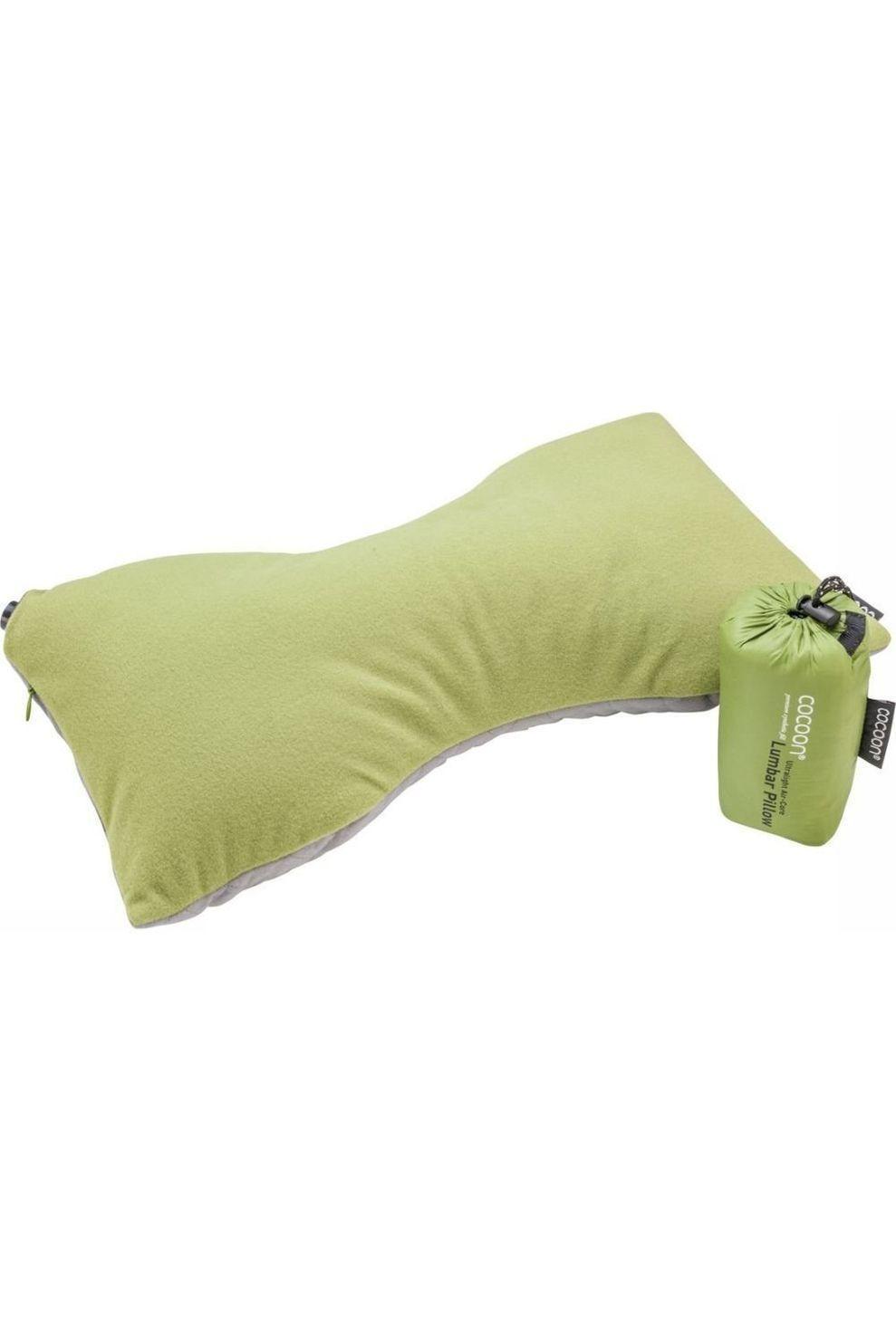 Cocoon Kussen Lumbar Pillow Ultralight - Groen/Grijs