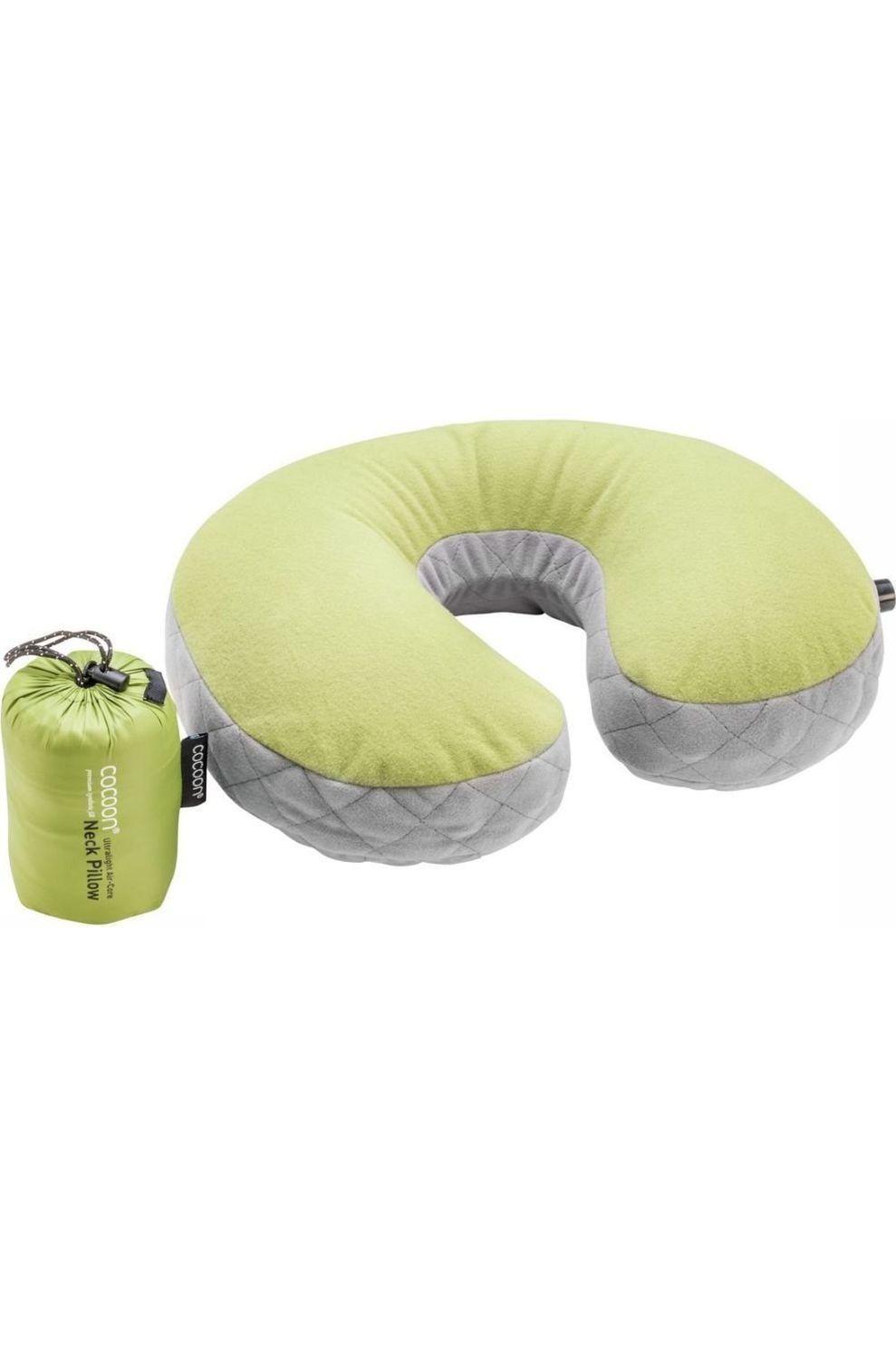 Cocoon Kussen Neck Pillow Ultralight - Groen/Grijs