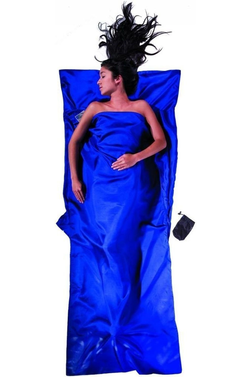 Cocoon Lakenzak Travelsheet 100% Silk - Blauw