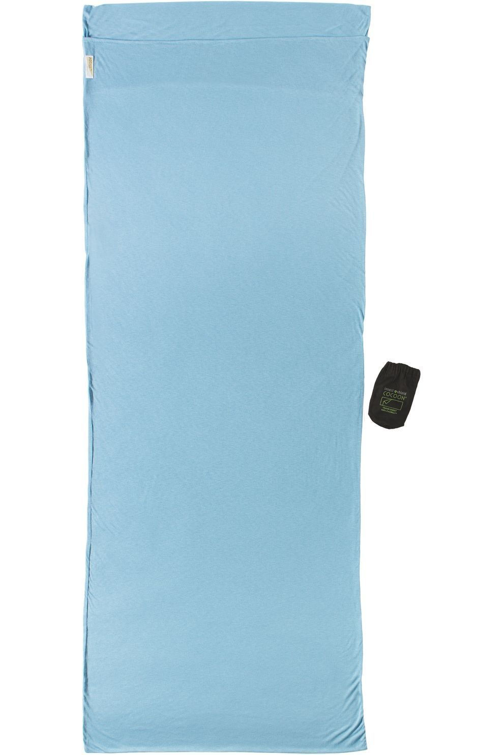 Cocoon Lakenzak Insect Shield Coolmax - Blauw