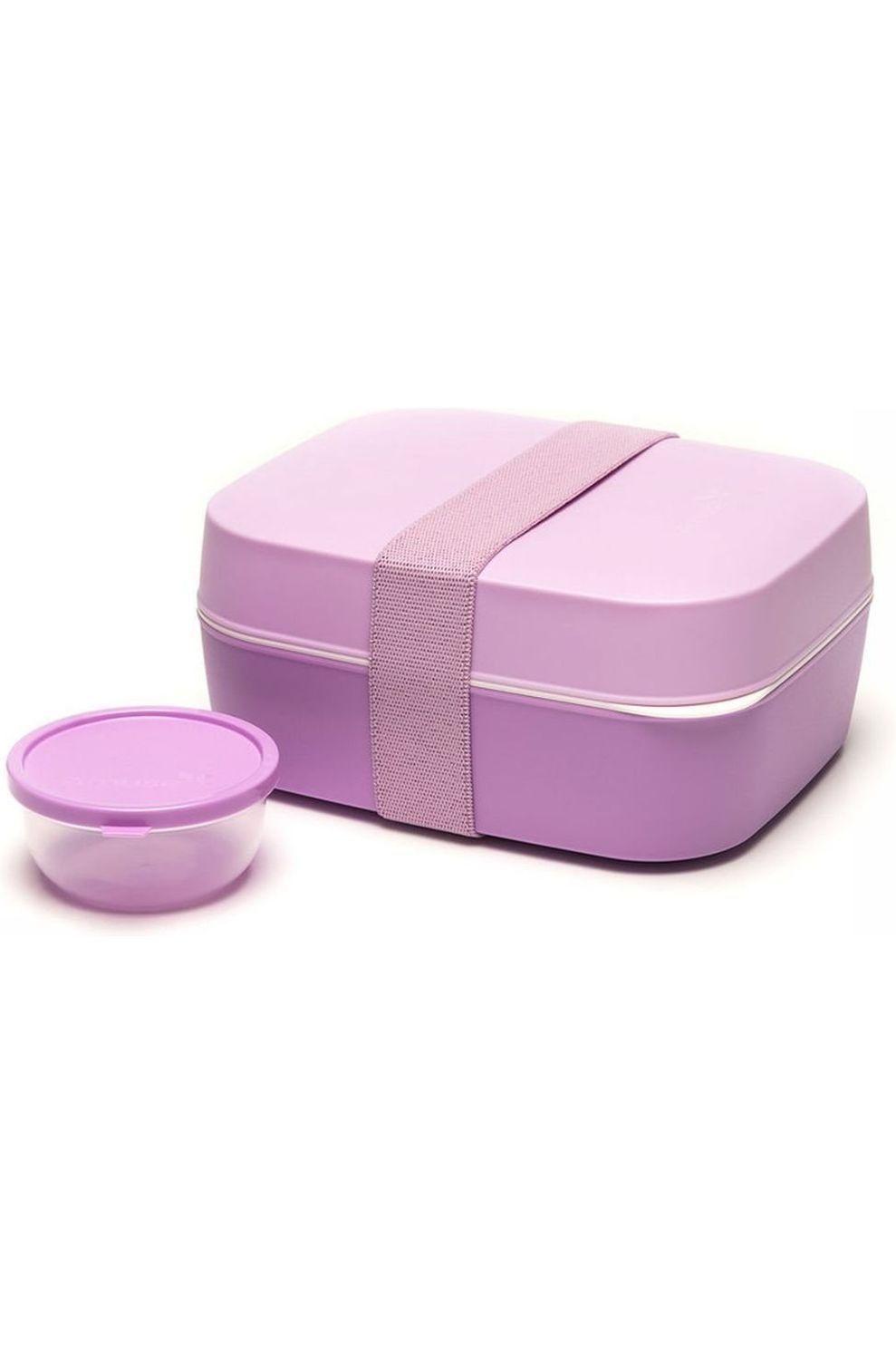 Amuse Voorraadpot Lunchbox 3 in 1 - Roze