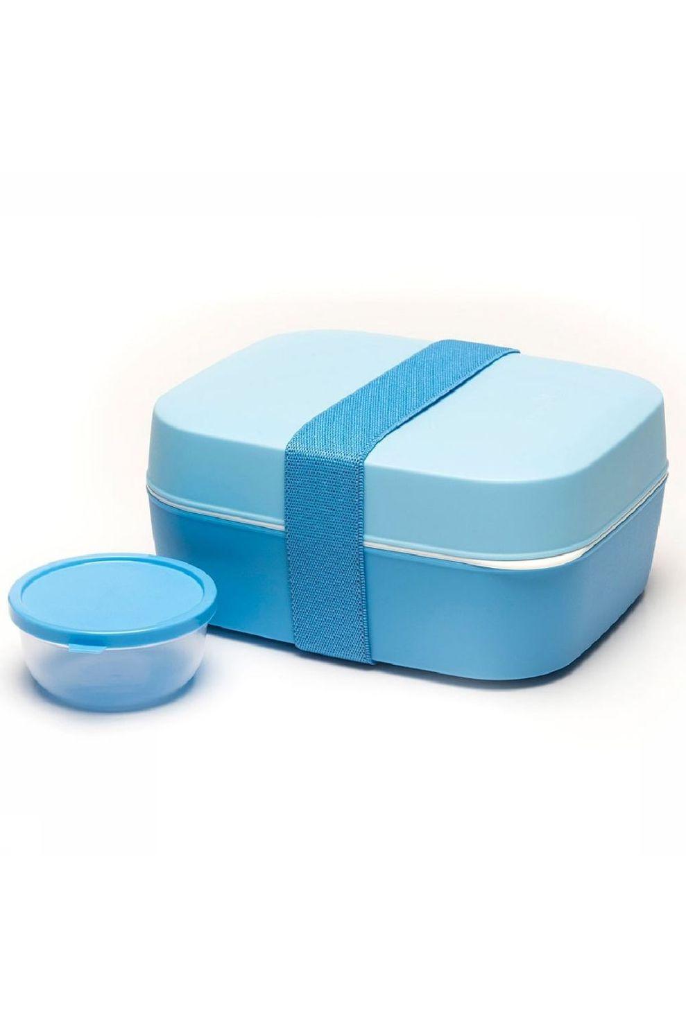 Amuse Voorraadpot Lunchbox 3 in 1 - Blauw