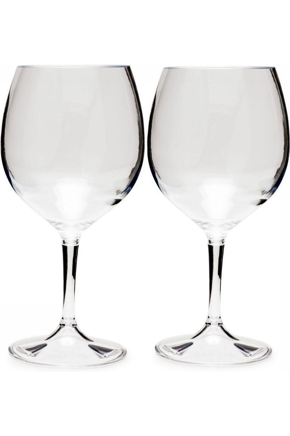 GSI Outdoors Beker Nesting Red Wine Glass set 444ml - / Transparant