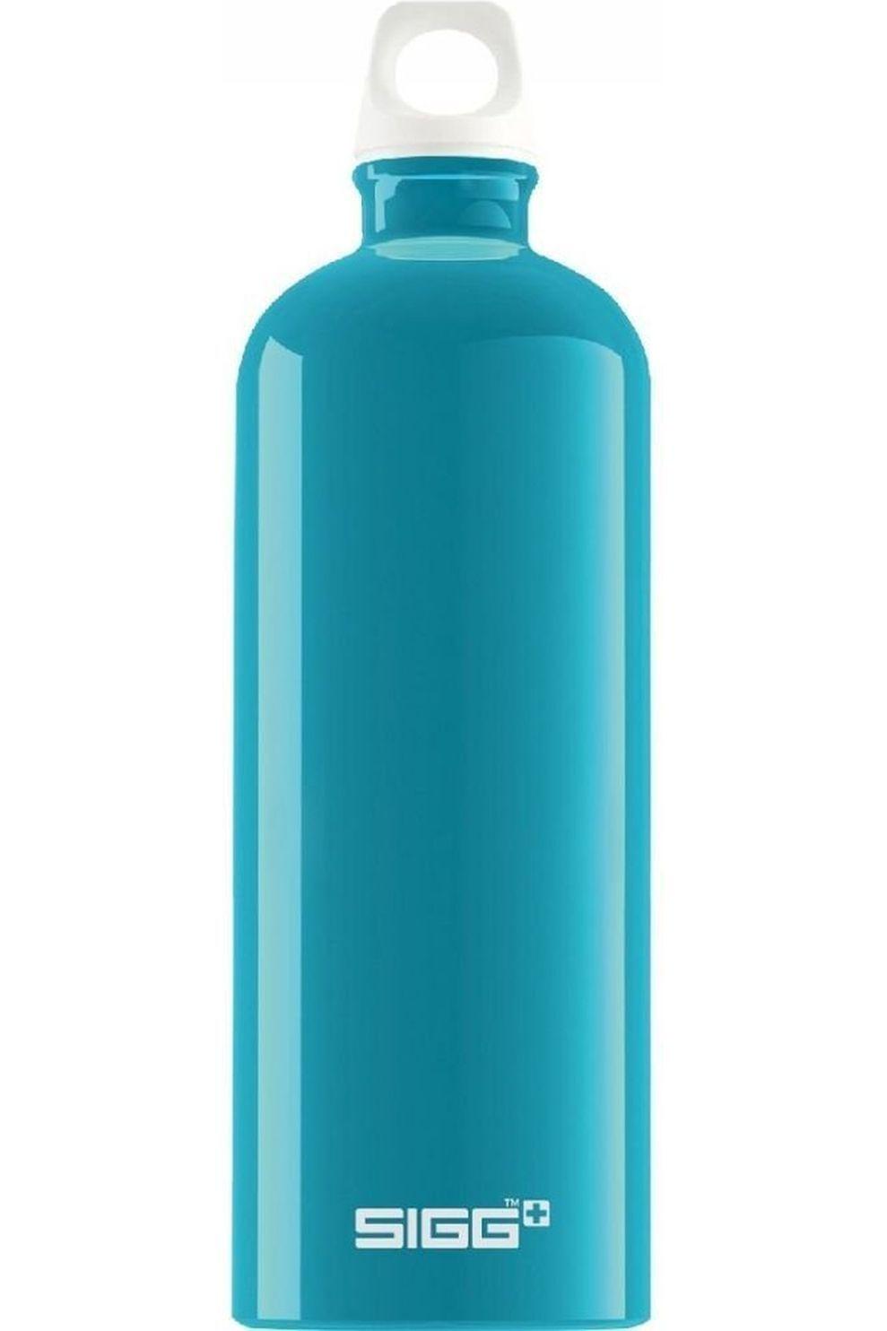 Sigg Drinkfles Fabulous 1L - Blauw/Wit