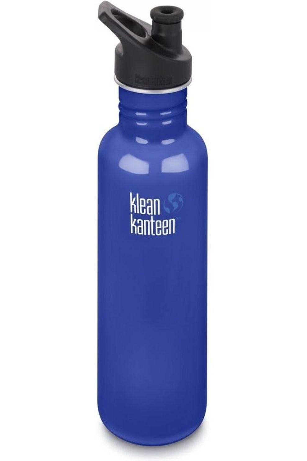 Klean Kanteen Drinkfles Classic Single Wall 27Oz 800Ml Sport - Blauw