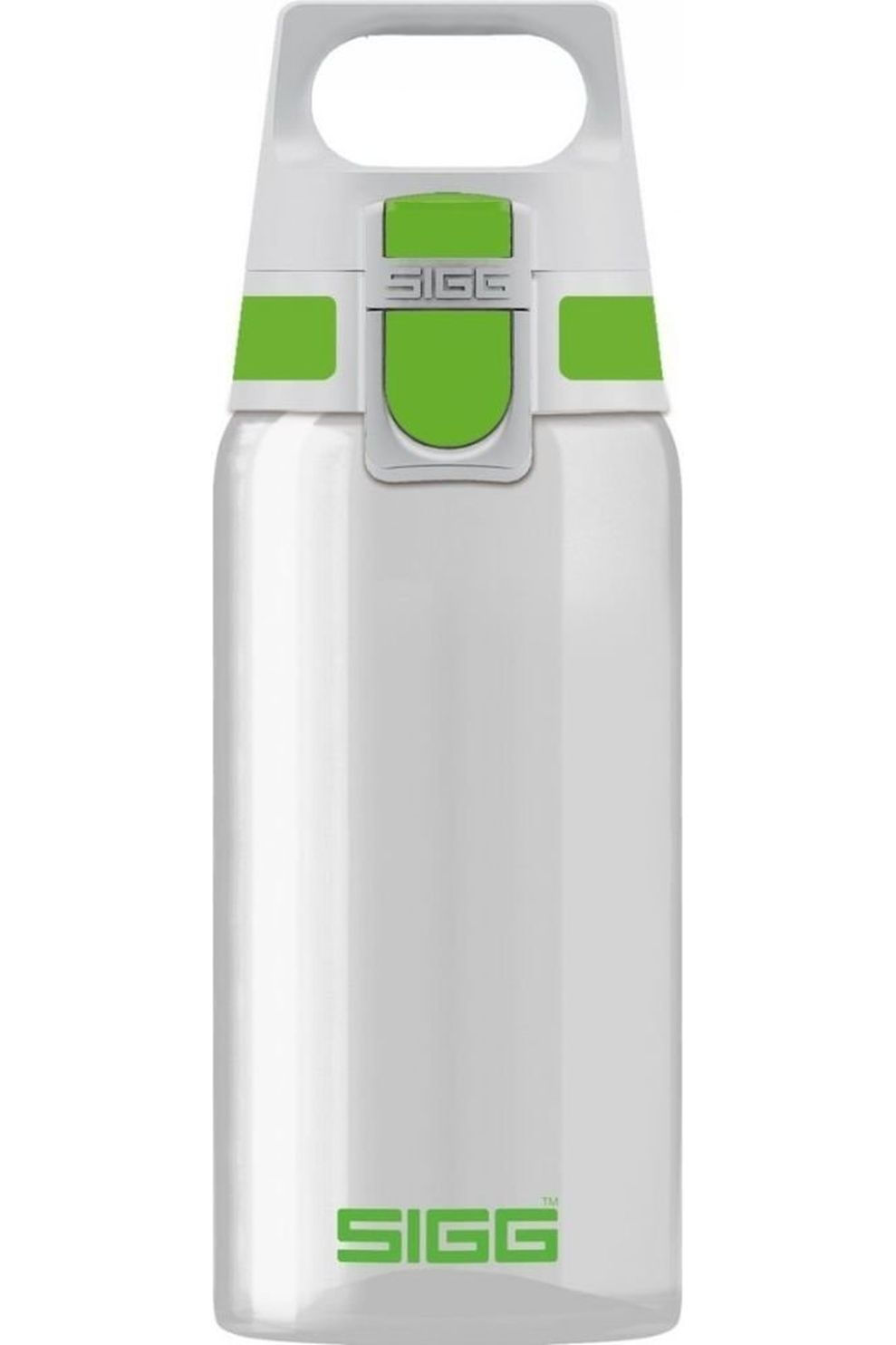 Sigg Drinkfles Total Clear One 0,5L - Groen/Wit