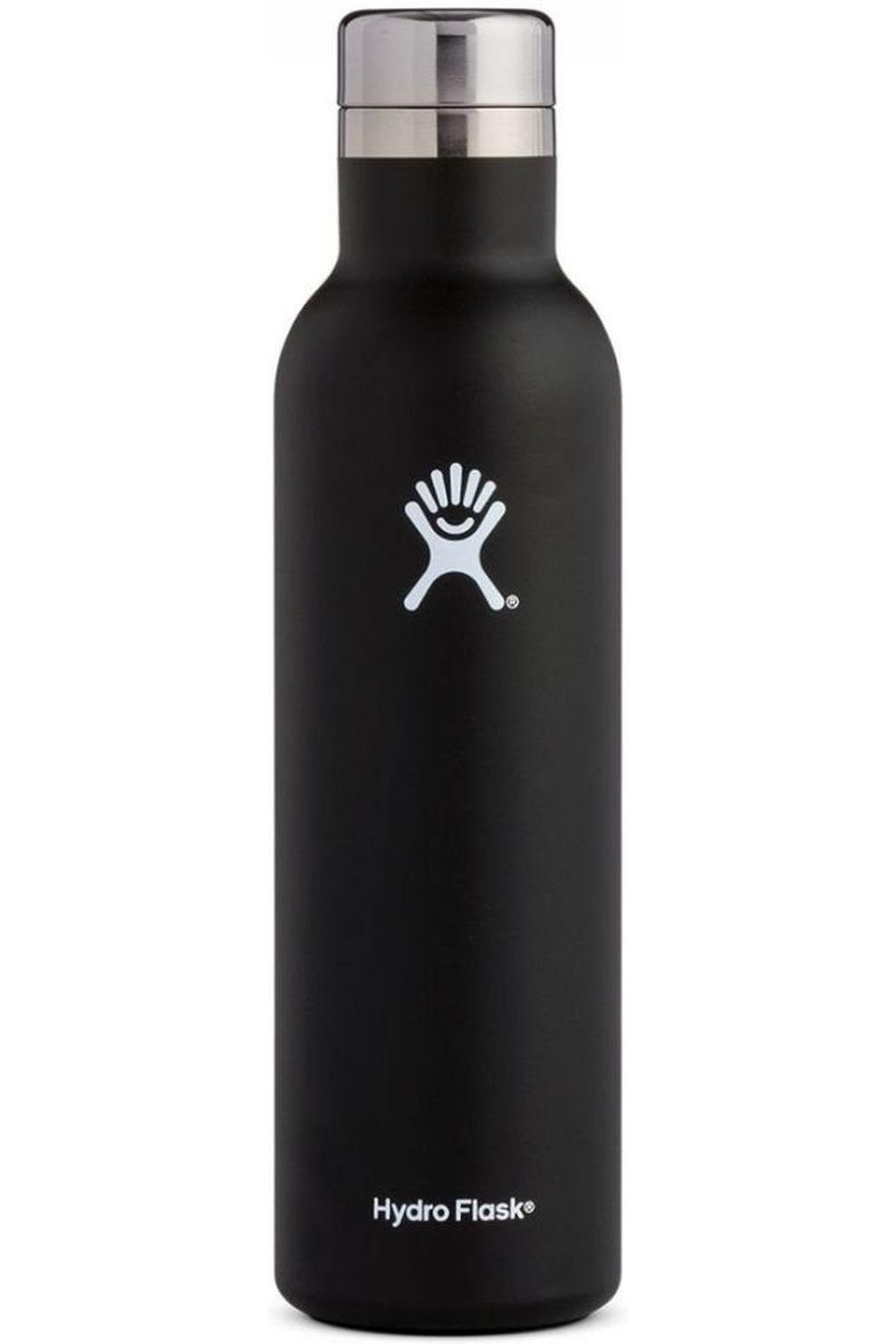 Hydro Flask Isolatiefles 25oz/750ml Wine Bottle - Zwart