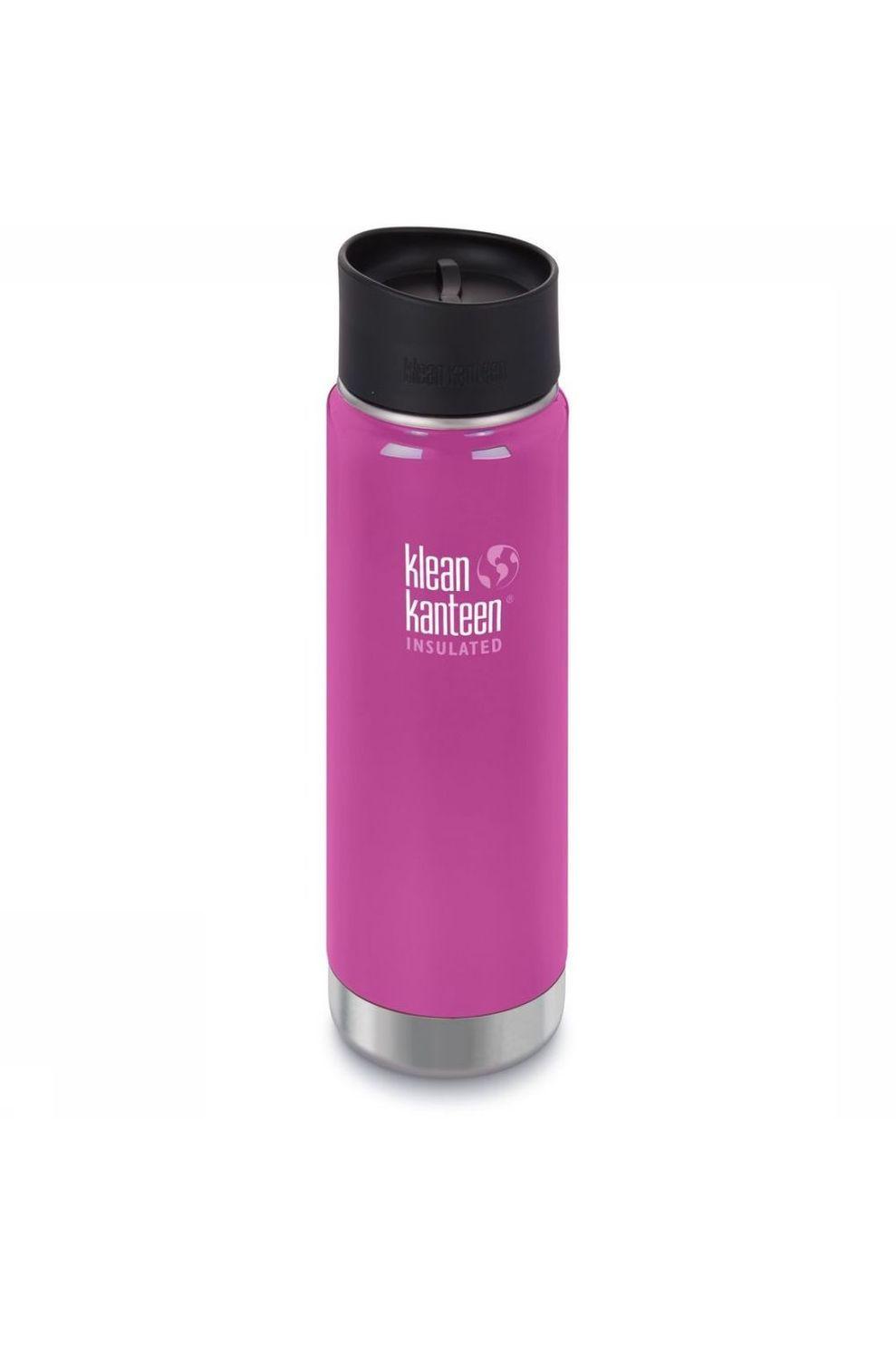 Klean Kanteen Isolatiefles Wide Vacuum Insulated 20Oz 592Ml Cafe Cap 2.0 - Roze