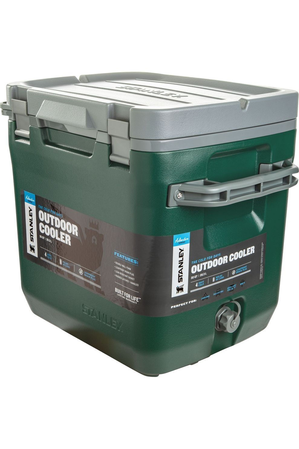 Stanley Koelbox The Cold For Days Outdoor Cooler 28,3L - Groen
