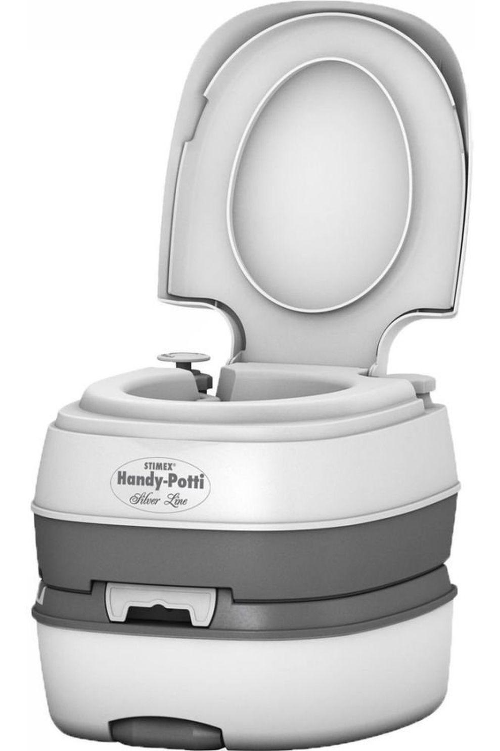 Stimex Toilet Handy Potti Silverline - - Transparant