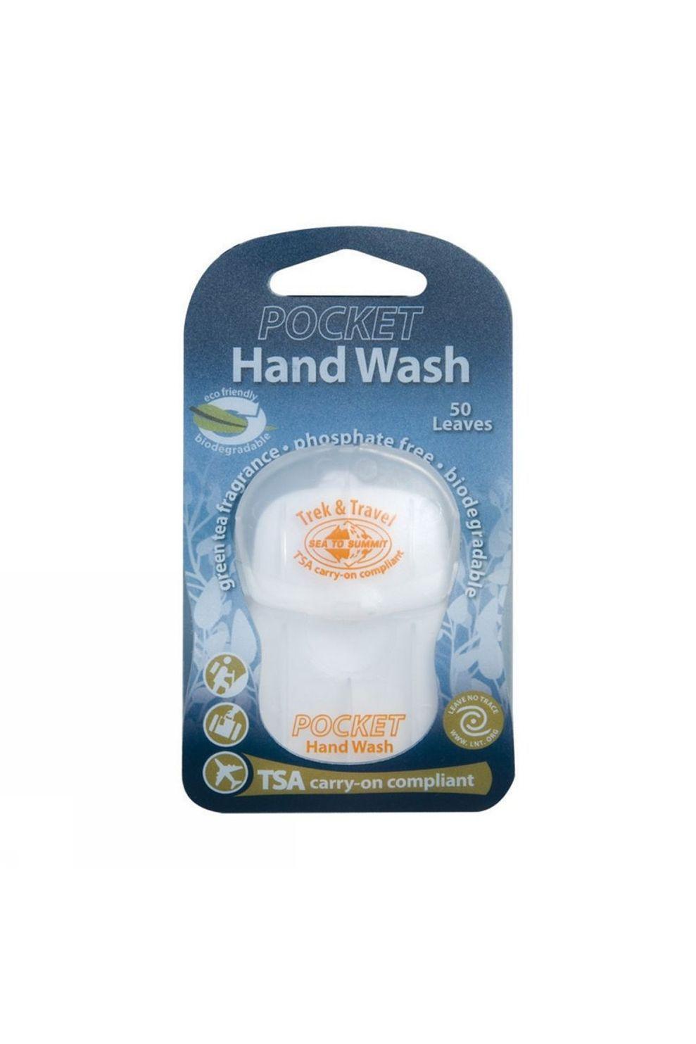 Sea To Summit Zeep Pocket Hand Wash - / Transparant