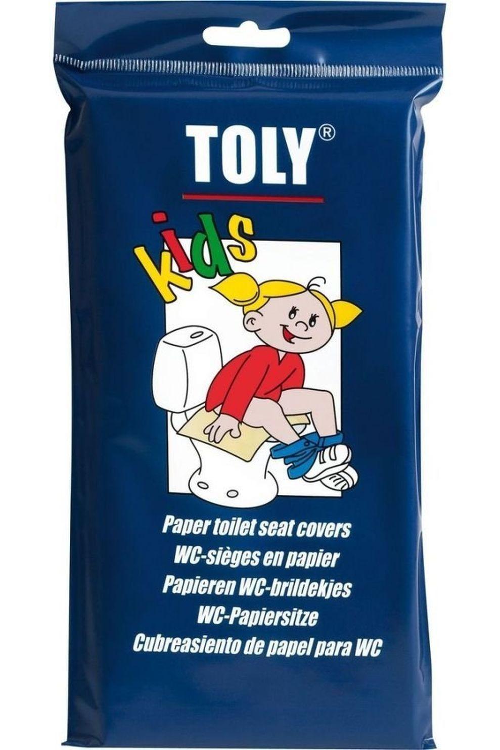 Toly Toilet Acc Wc-Brildekjes Kinderen 30 Stuks - / Transparant