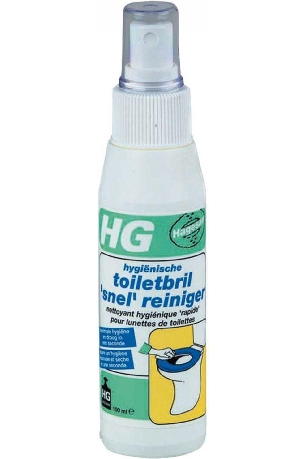 Van Assendelft Toilet Acc Toiletbril Snelreiniger Spuitflacon - / Transparant