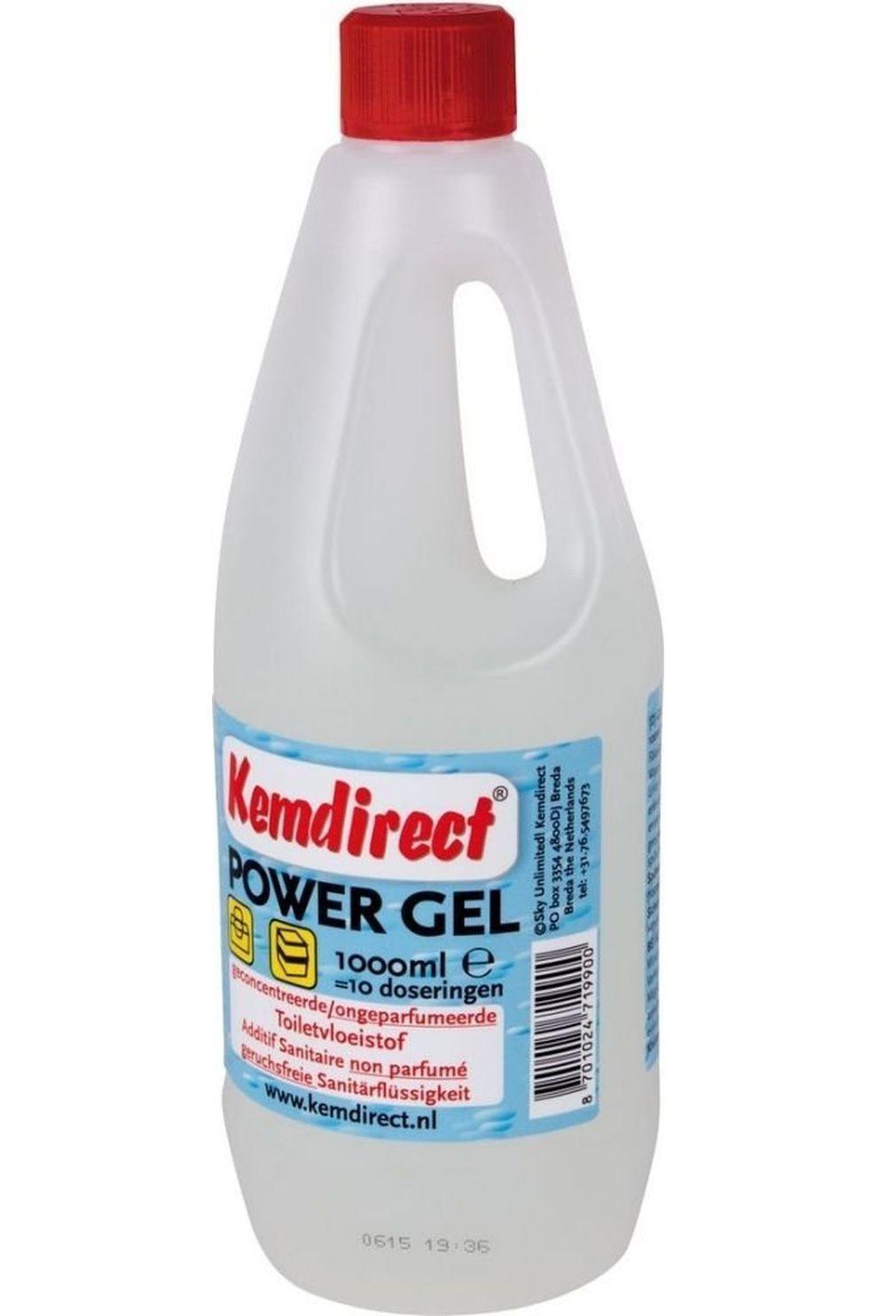 Van Assendelft Toilet Acc Toiletvloeistof Powergel 1 Liter - / Transparant