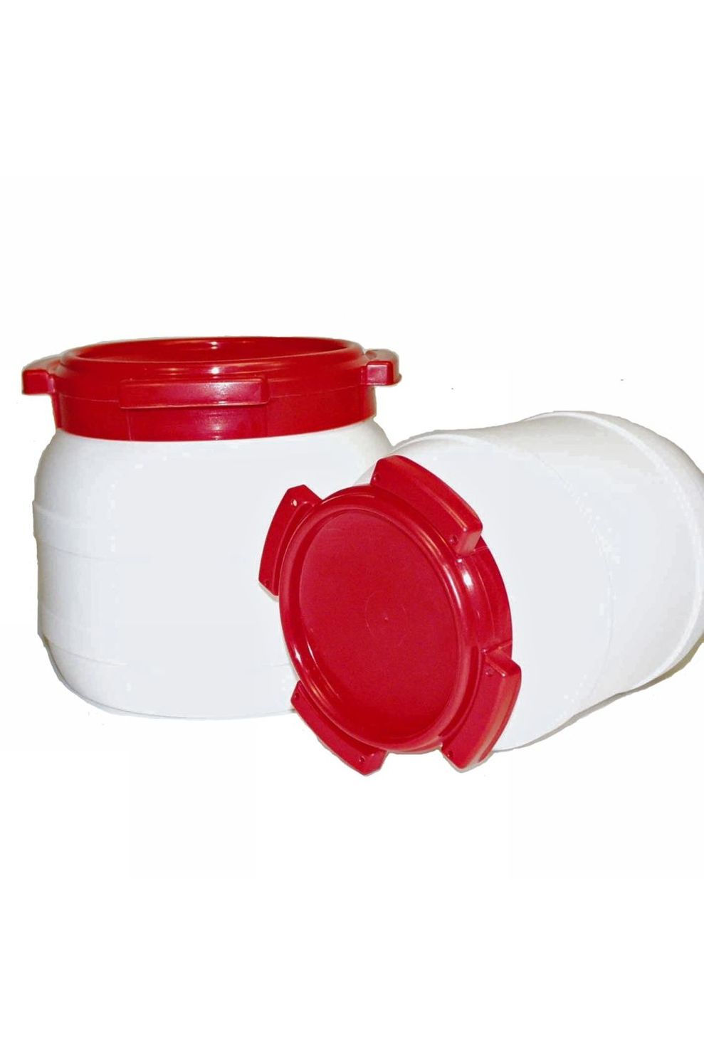 No Label Watervat 6,4 l - Transparant/Transparant