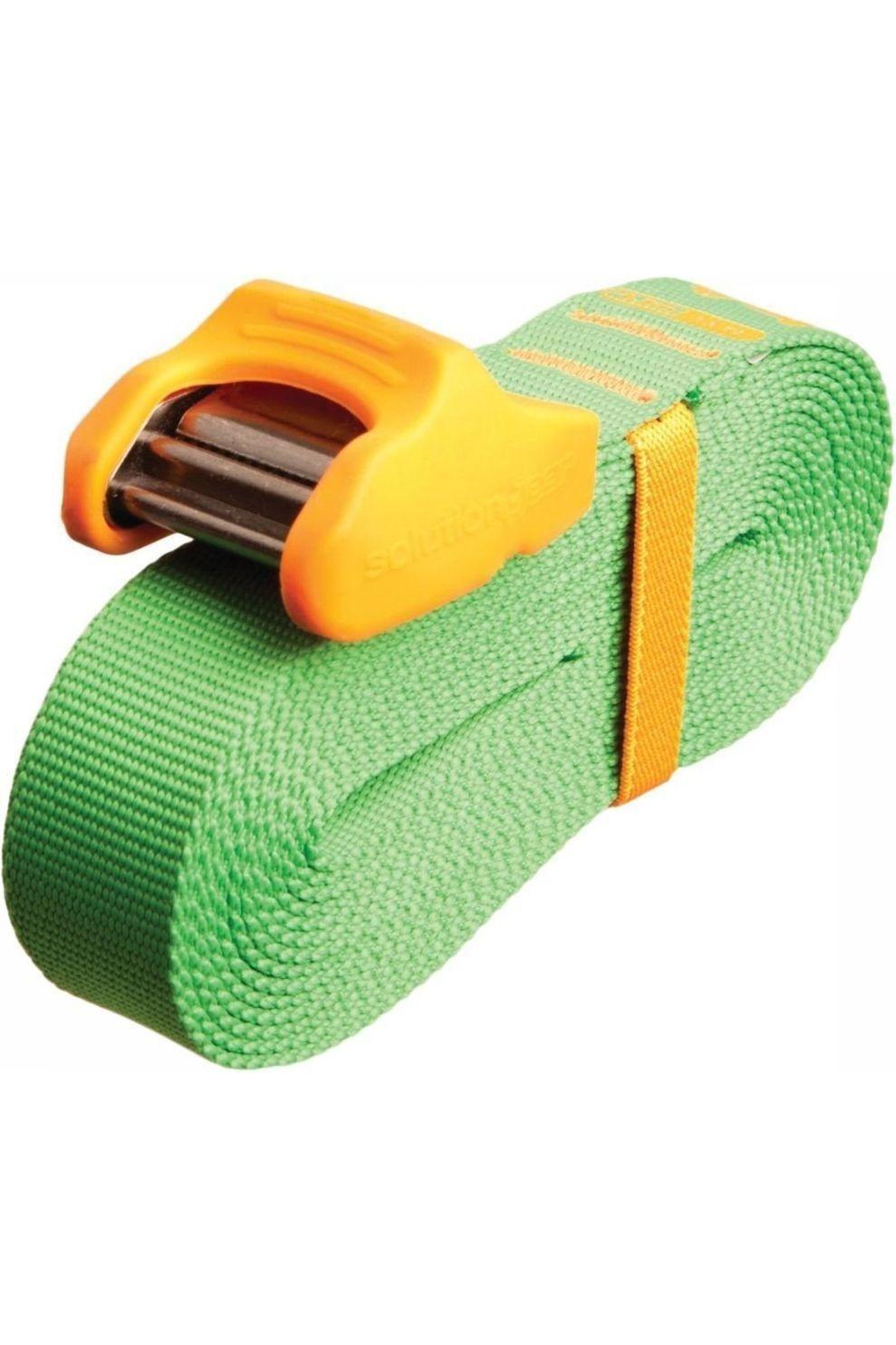Sea To Summit Spanriem Tie Down Silicone Cam Cover 4.5M 2 Pack Lime/Orange - Limoen Groen/Oranje