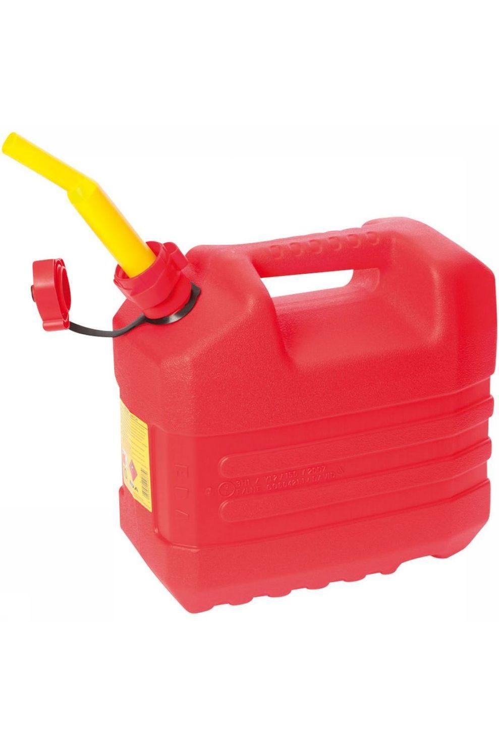 Eda Diverse Benzine Jerrycan Met Tuit 10 Liter - Rood
