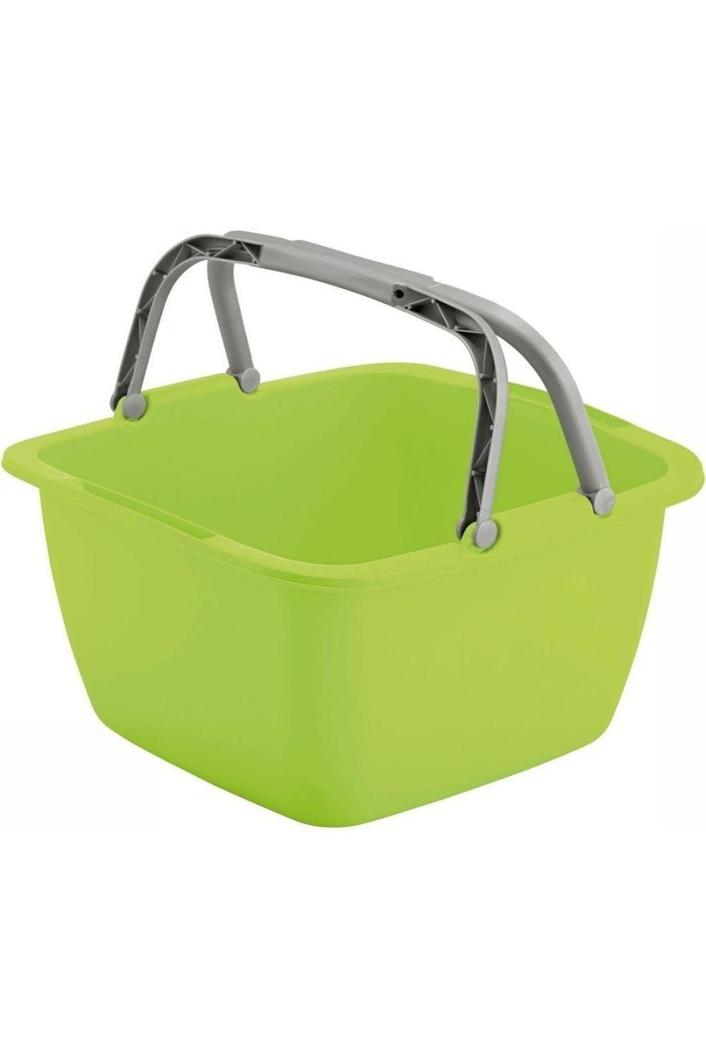 Van Assendelft Diverse Afwasbak Vierkant 18,5 Liter - Groen