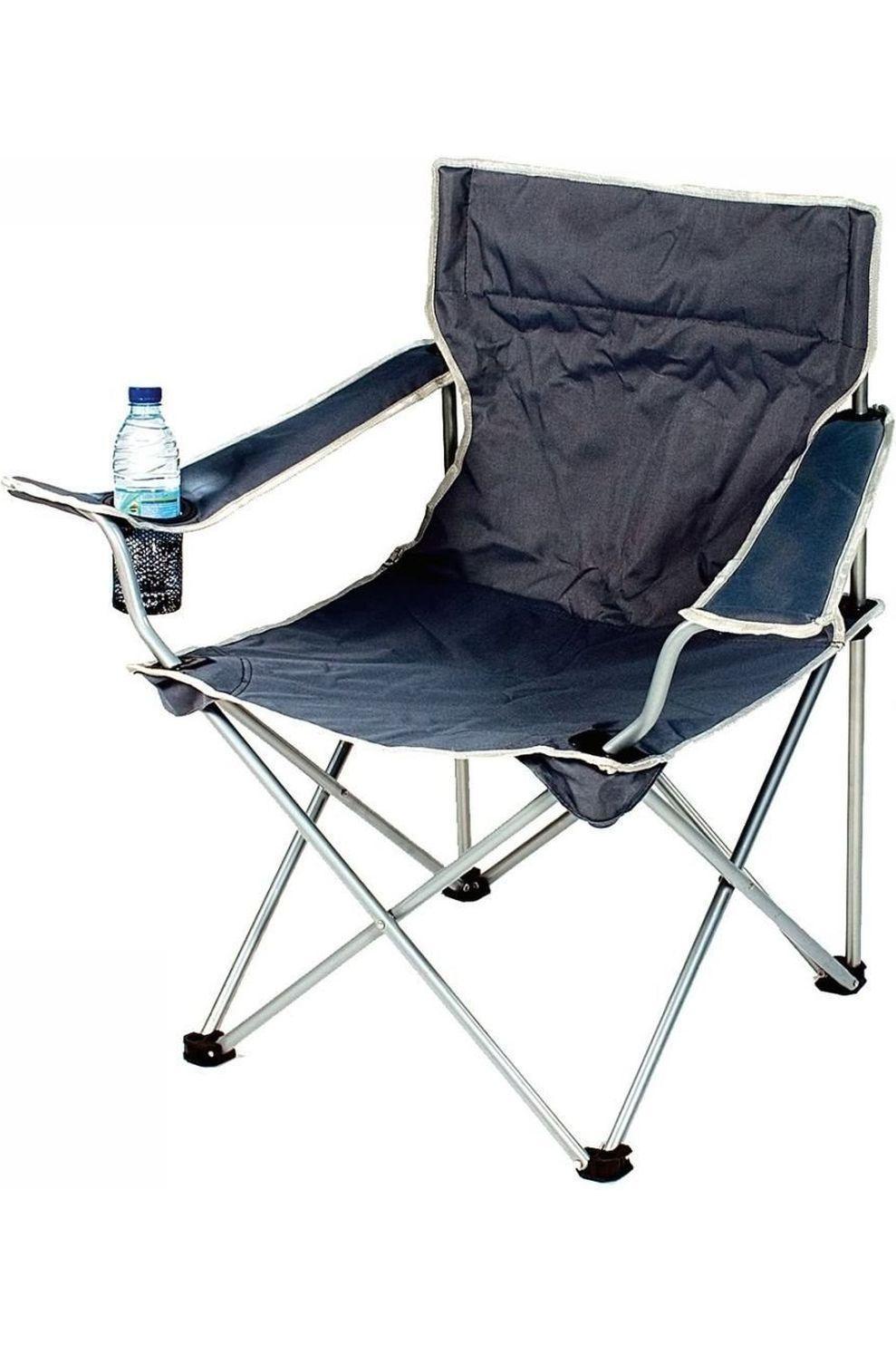 Transfilco Vouwstoel met armleuning - Grijs