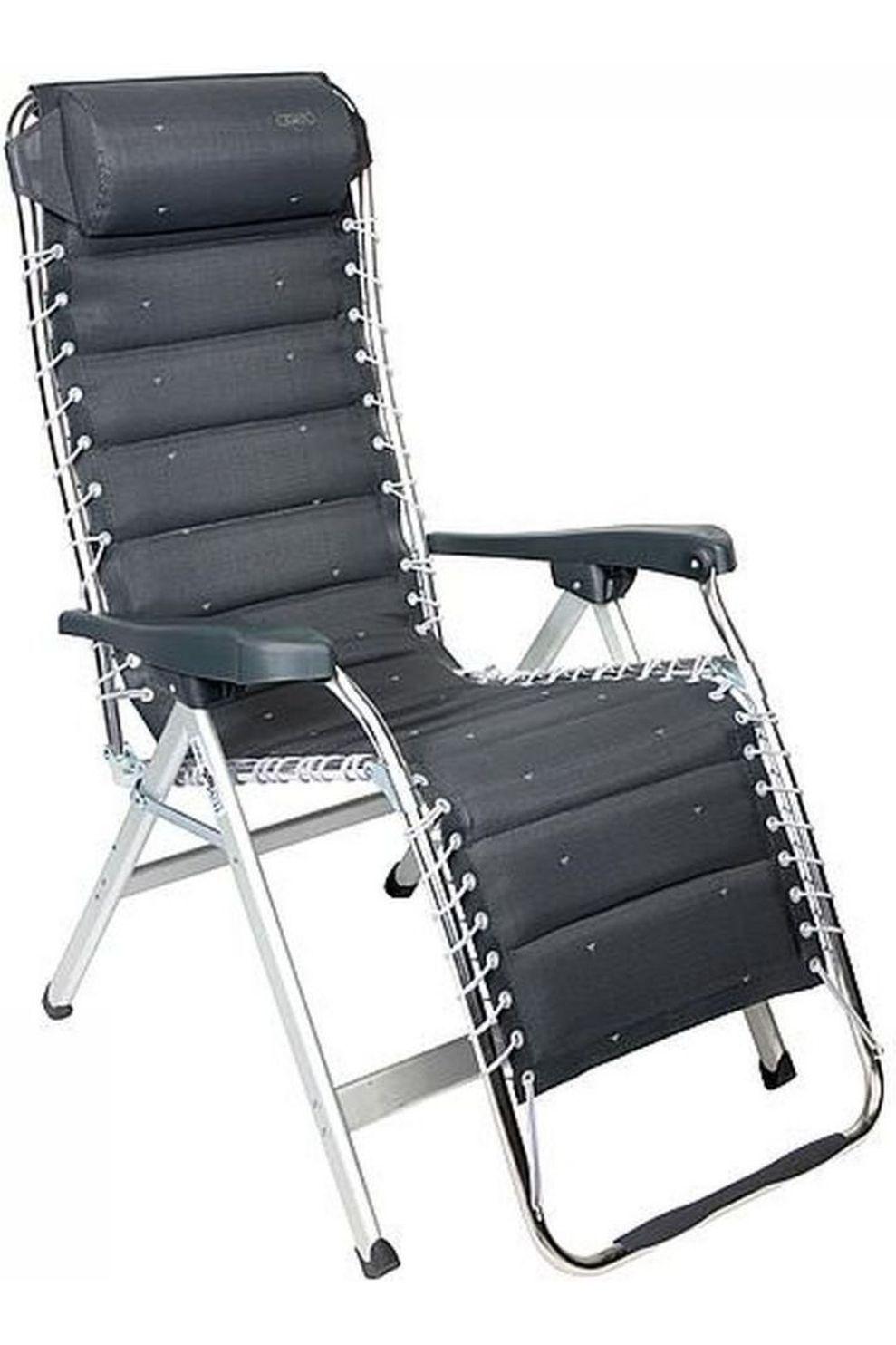 Crespo Relaxstoel Al-232 Deluxe - Grijs