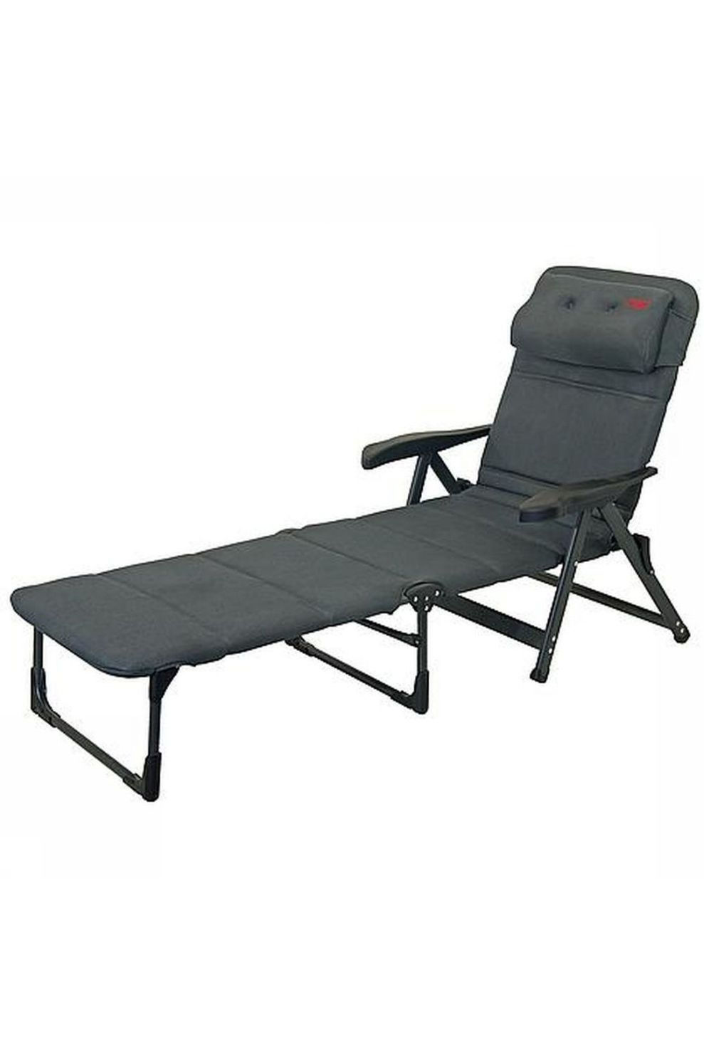 Crespo Relaxstoel Zit Ligstoel Ap-233 Air-Deluxe - Grijs