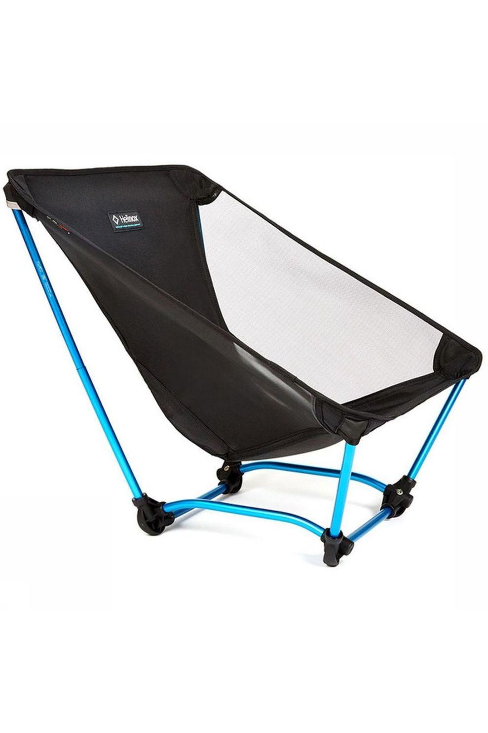 Helinox Reisstoel Compact Ground Chair - Zwart/Blauw