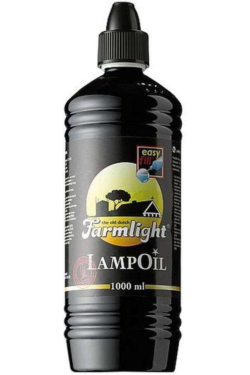 No Label Lampenolie 1L - / Transparant