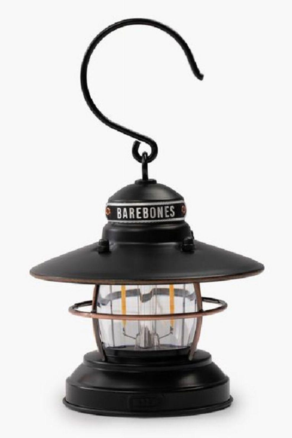 Barebones Living Mini Edison Lantern - Zwart
