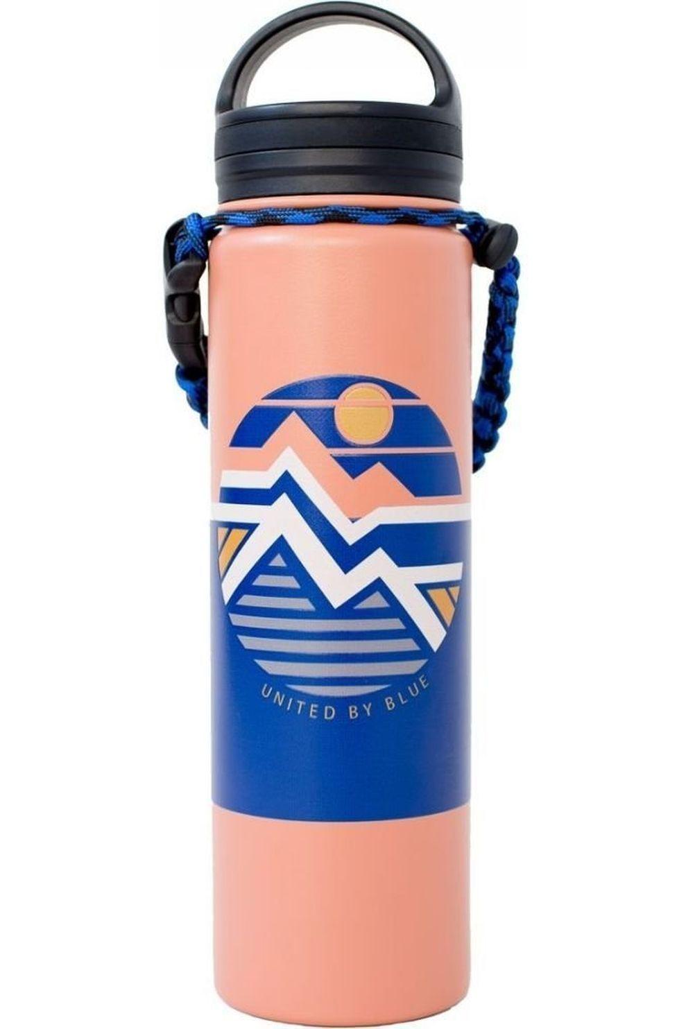 United by Blue Drinkfles Field Guide 22Oz Stainless Steel - Oranje/Blauw