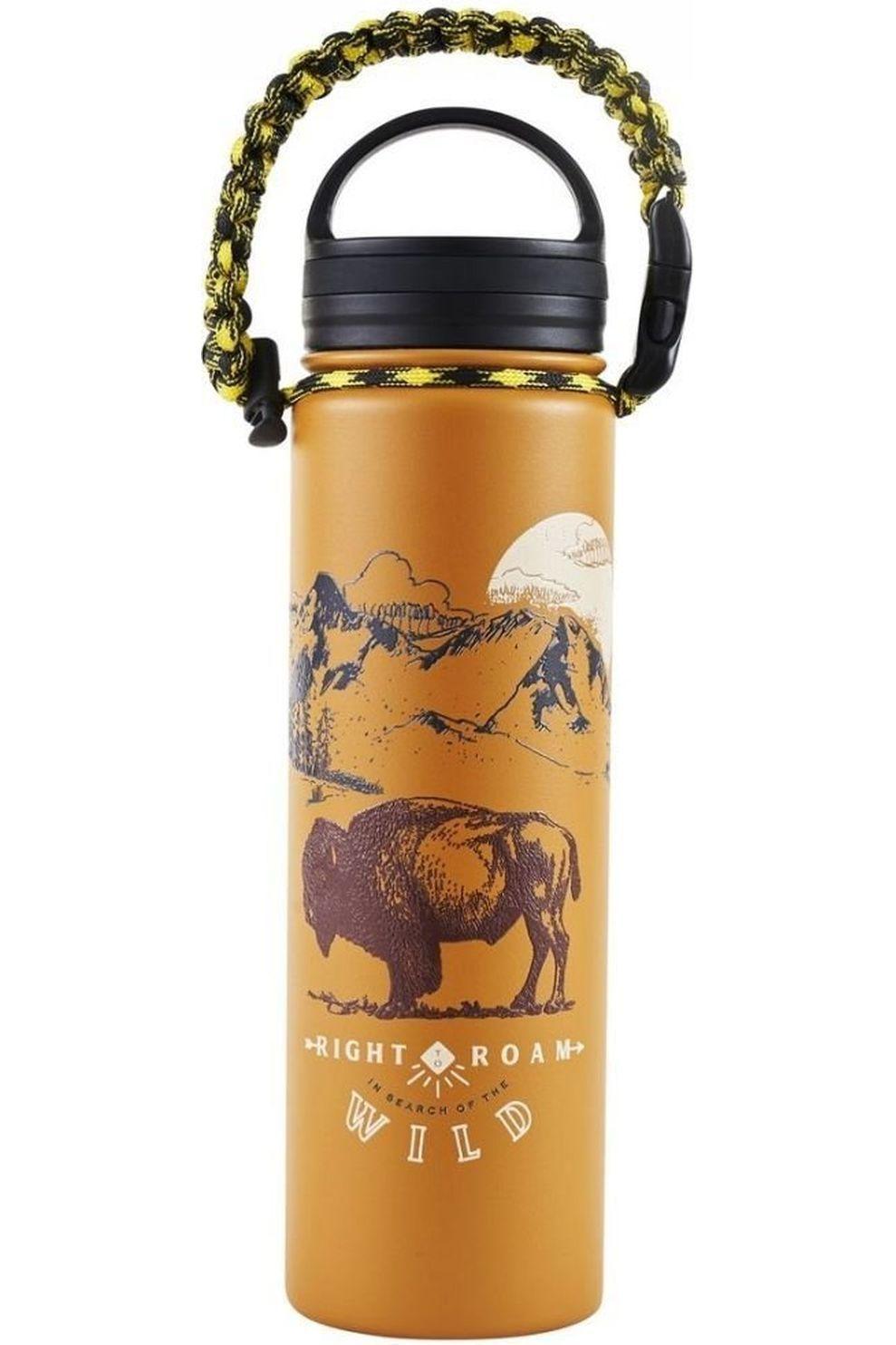 United by Blue Drinkfles Insulated Steel Water Bottle 22Oz - Oranje