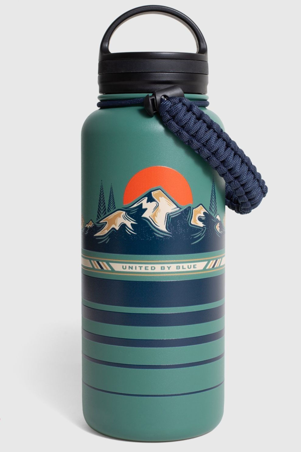 United by Blue Drinkfles Stainless Steel Bottle 32Oz - Blauw/ Gemengd