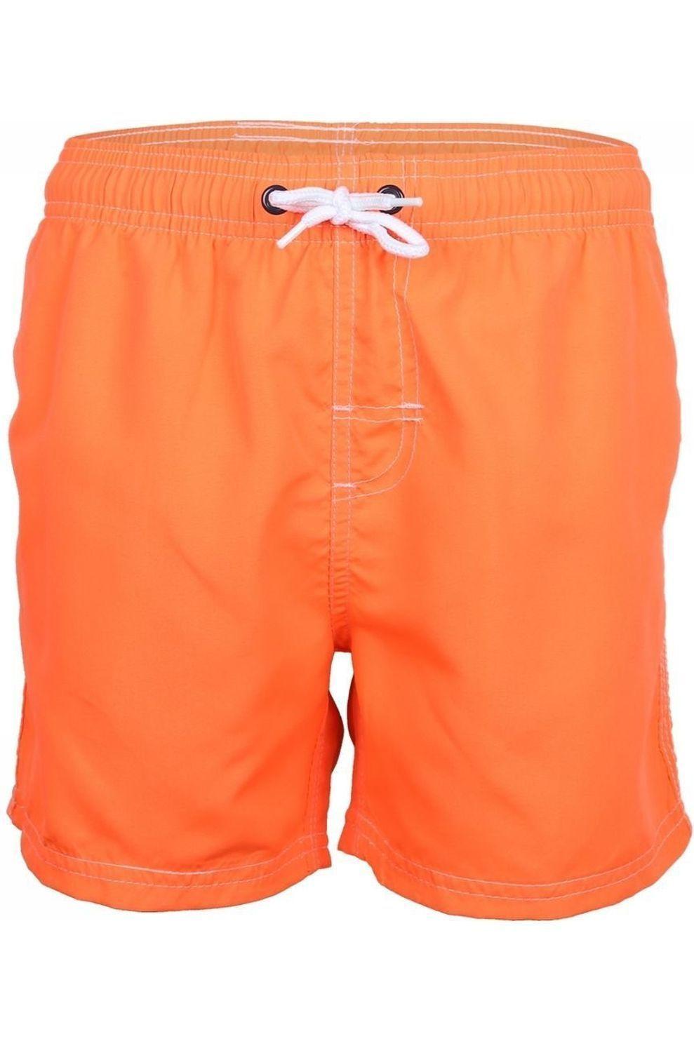 Knot so bad Zwemshort Rainbow voor jongens - Oranje - Maten: 128, 140