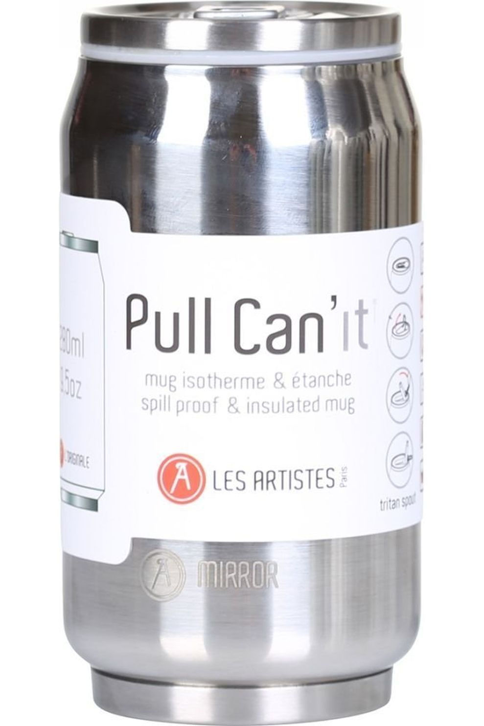 Les Artistes Pull Can'it Isotherm - Grijs