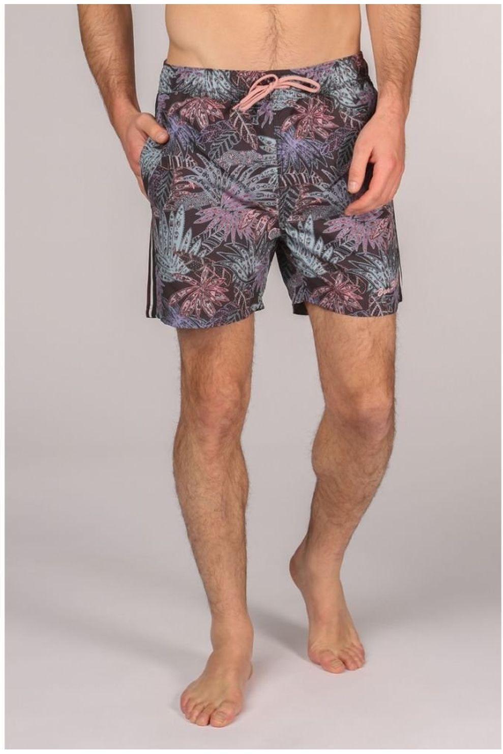 Ben Sherman Zwemshort L5-3526 voor heren - Zwart - Maat: M