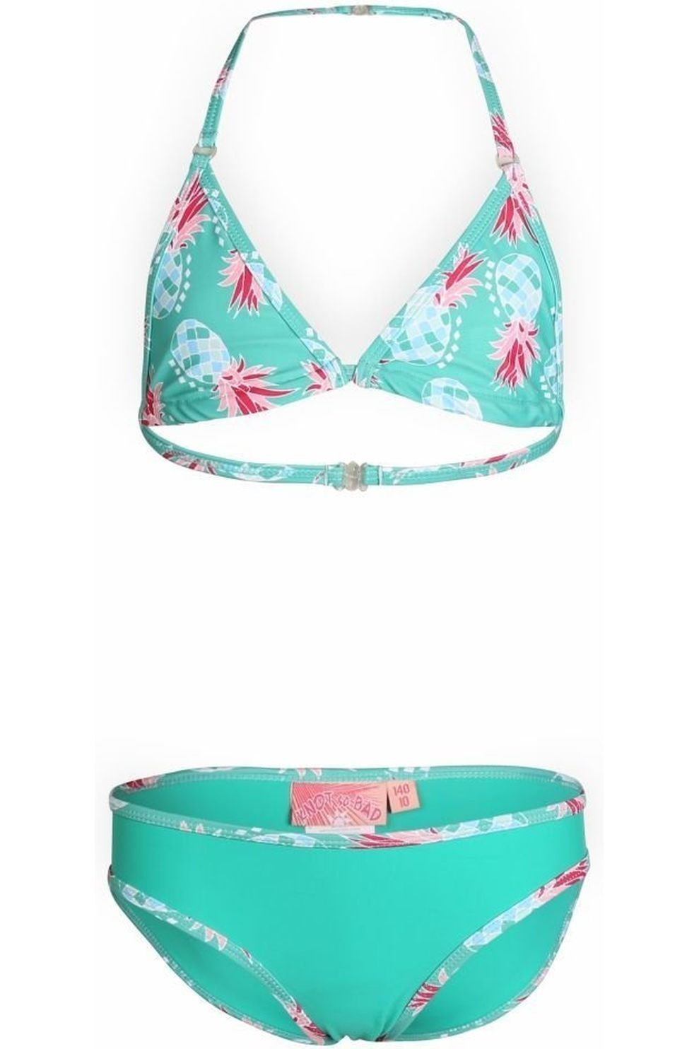 Knot so bad Bikini Ananas voor meisjes - Groen/ Gemengd - Maat: 104