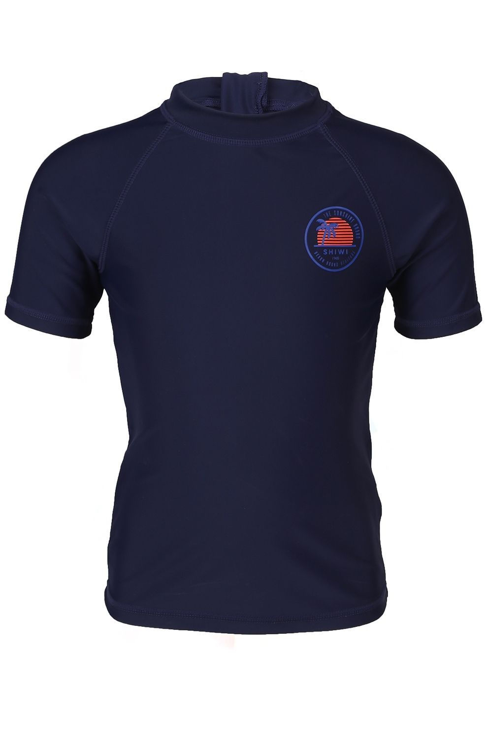 Shiwi Lycra Logo Rashtee voor jongens - Blauw - Maten: 104, 116, 128, 140, 152, 164