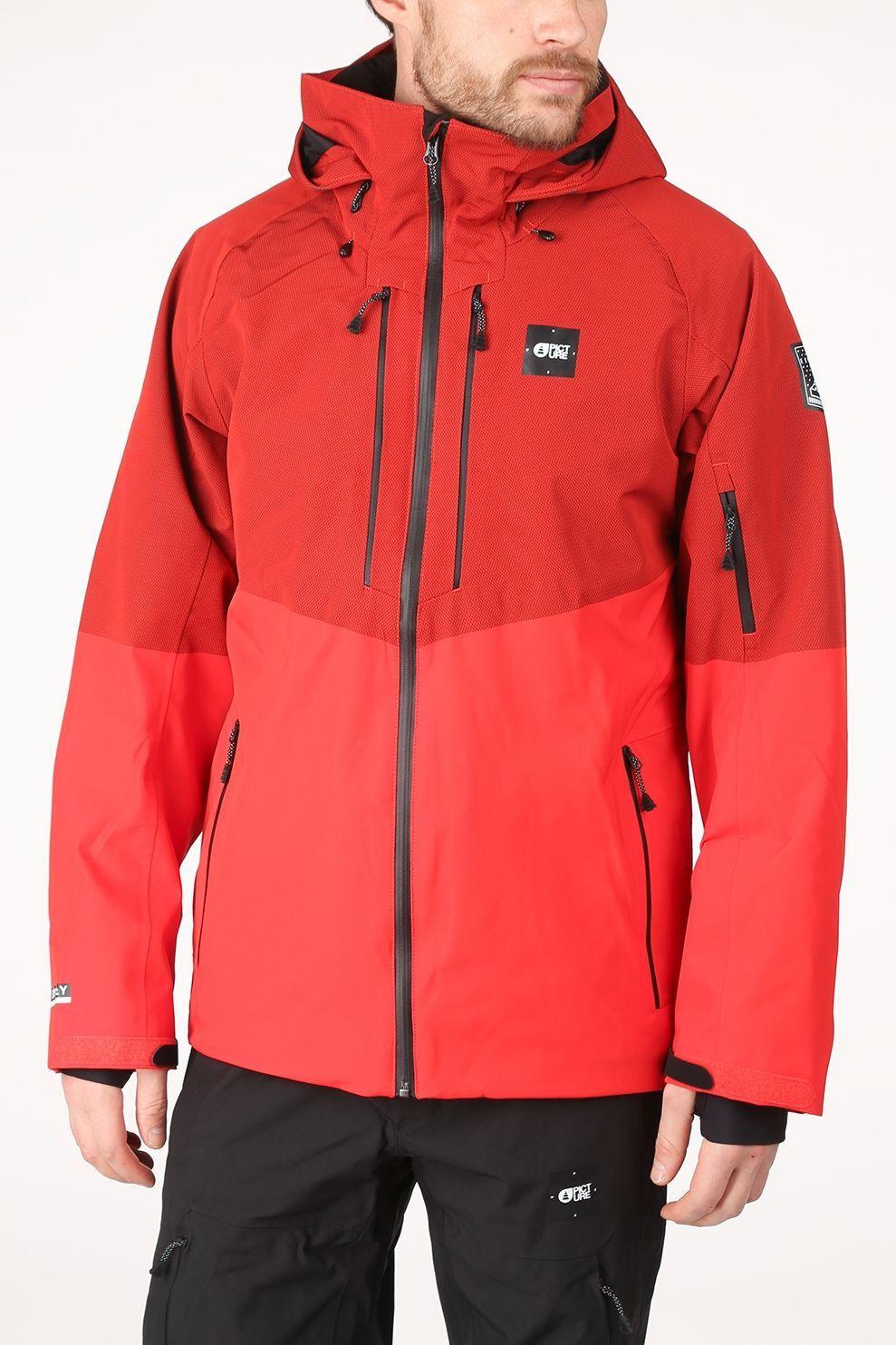 Picture Organic Clothing Jas Goods Jacket voor heren - Rood - Maten: S, M, L, XL