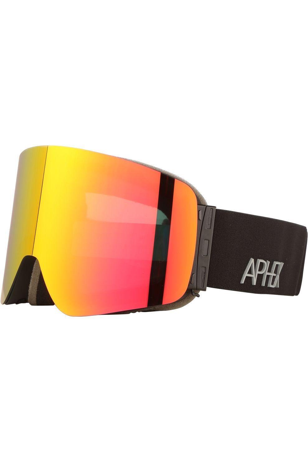 Aphex Skibril Oxia - Zwart/Rood