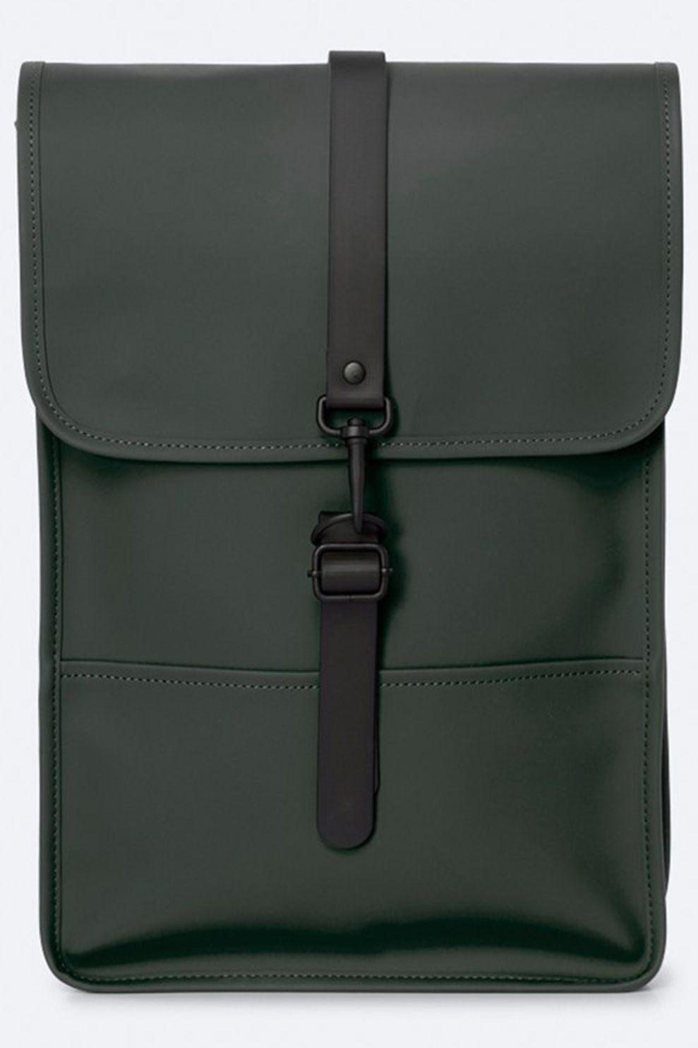 Rains Dagrugzak Backpack Mini - Groen