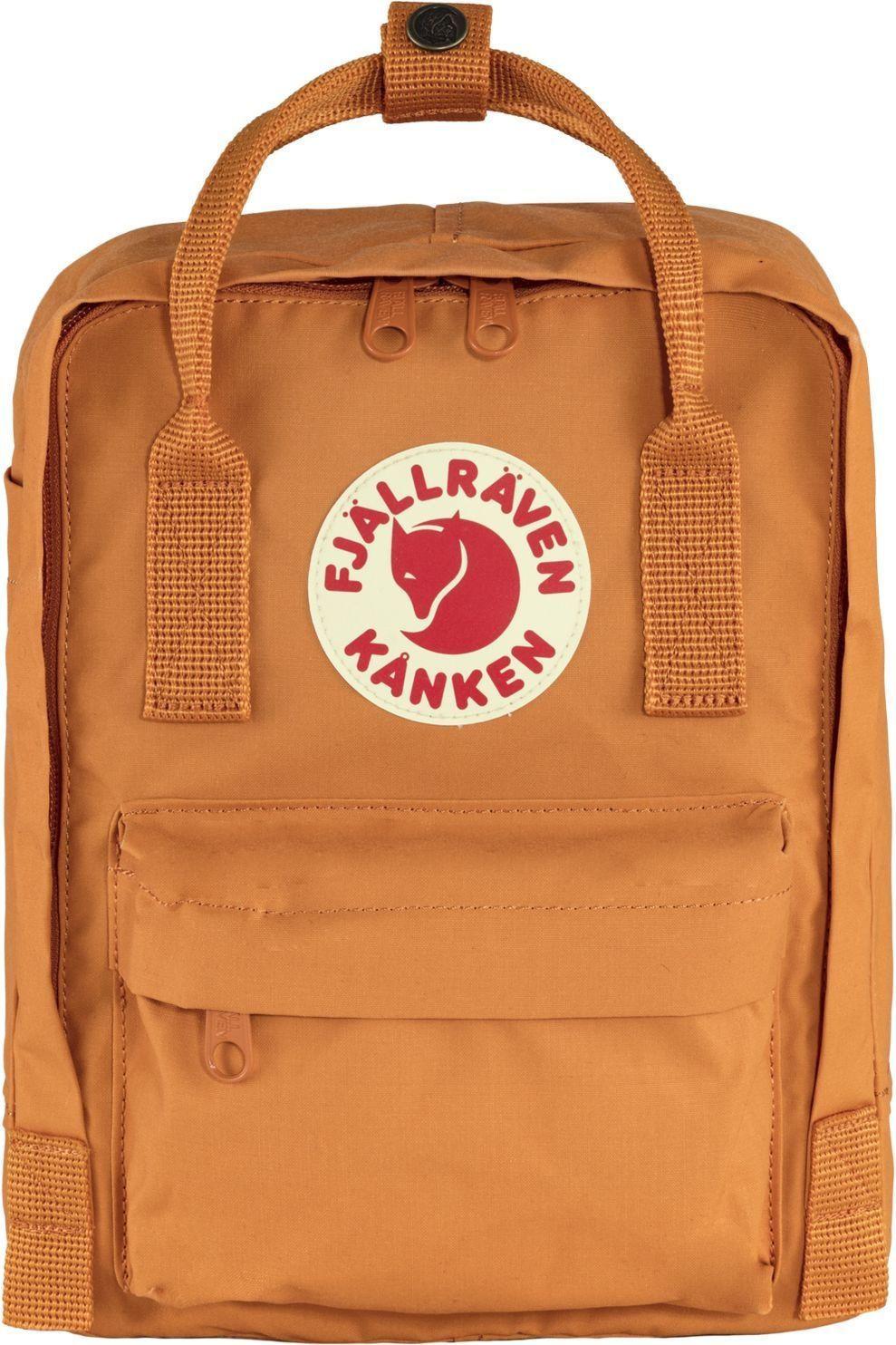Fjällräven Dagrugzak Kånken Mini - Oranje/Logo