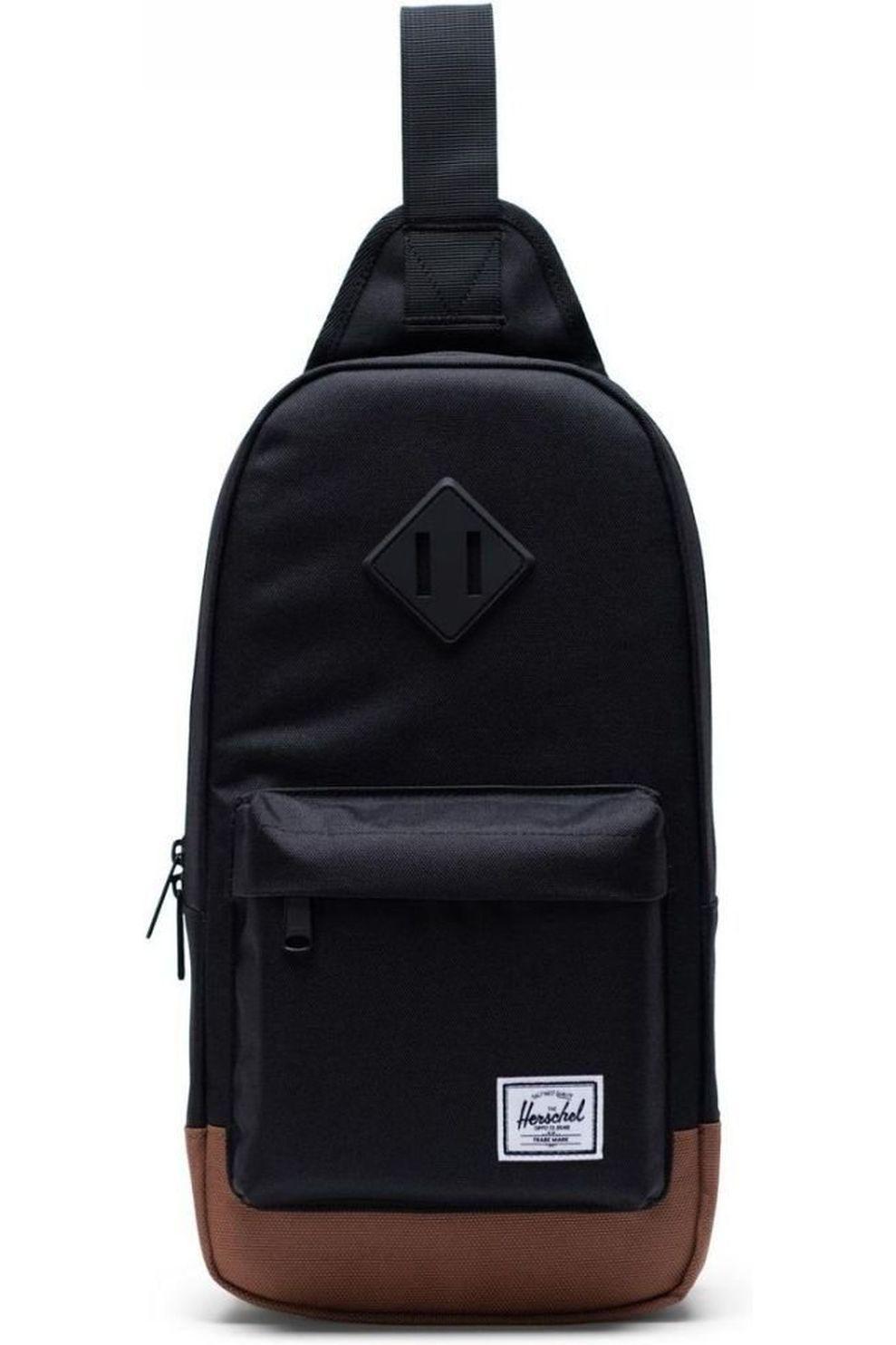 Herschel Supply Schoudertas Heritage Shoulder Bag - Zwart/Bruin