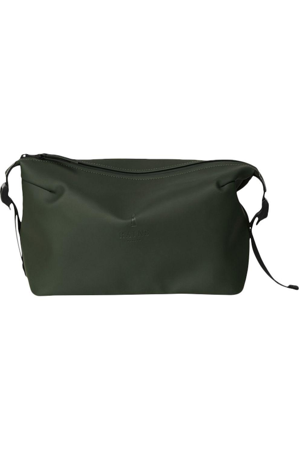 Rains Toilettas Weekend Wash Bag voor dames - Groen