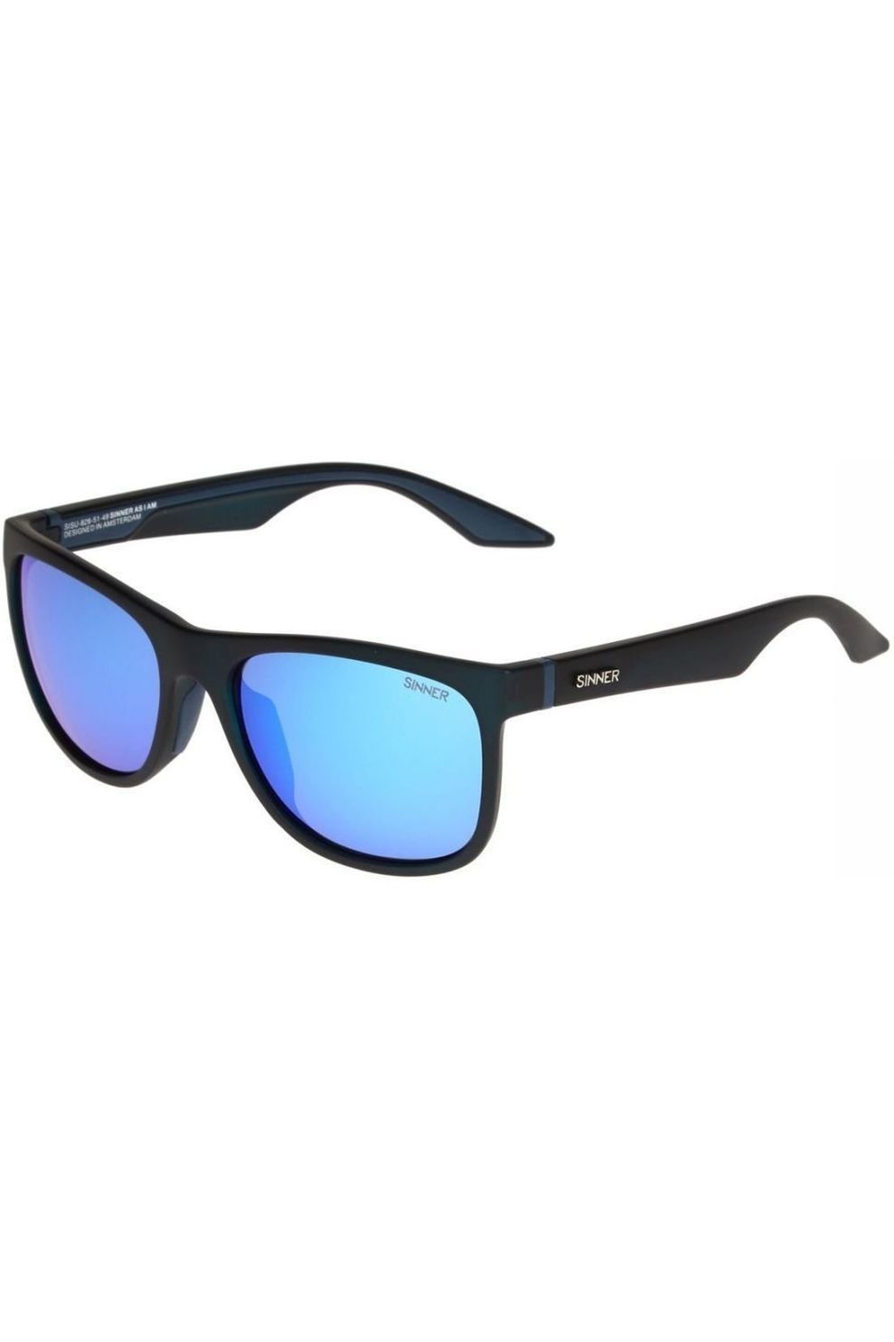 SINNER Bril Rockford - Zwart/Blauw