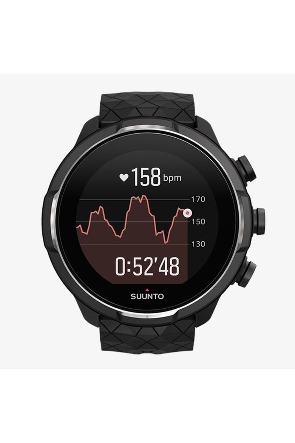 Suunto GPS 9 Baro Titanium Black - Grijs/Zwart