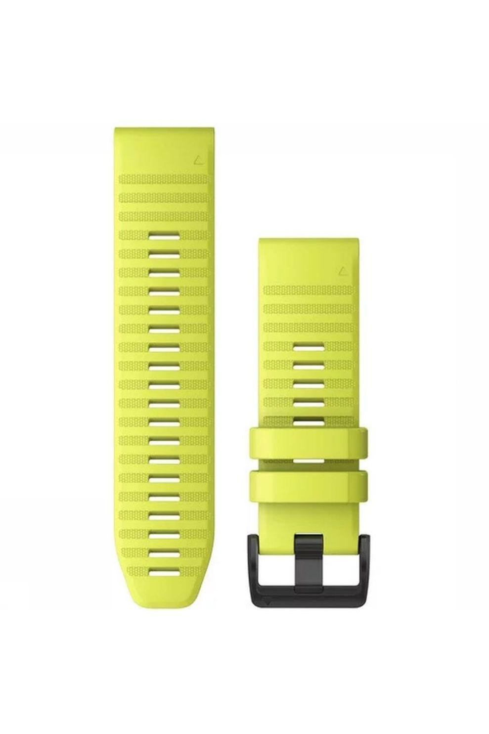 Garmin Horlogebandje Quickfit 26 Siliconen - Geel