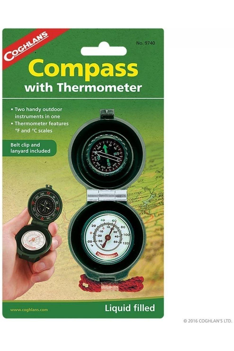 Coghlan's Kompas en thermometer - - Transparant